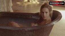 9. Lucy Brown Nude in Bathtub – Sharpe'S Challenge