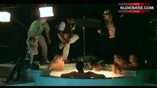 10. Dita De Leon Shows Nude Boobs– Bottoms Up