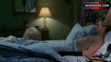 7. Lynn Collins Sex Scene in Bed – True Blood