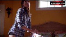 8. Jennifer Carpenter in Hot Underwear – Dexter
