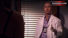 10. Jennifer Carpenter in Sexy Bra – Dexter