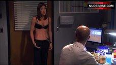 3. Jennifer Carpenter in Sexy Bra – Dexter