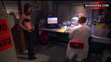 4. Jennifer Carpenter in Sexy Bra – Dexter