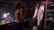 5. Jennifer Carpenter in Sexy Bra – Dexter