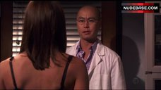 6. Jennifer Carpenter in Sexy Bra – Dexter
