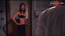 9. Jennifer Carpenter in Sexy Bra – Dexter