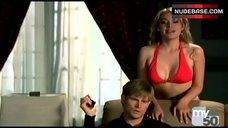 Vivian Gray in Hot Red Bikini – Desire