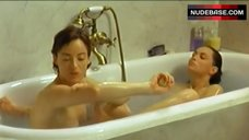 Pascale Bussieres Nude in Hot Tub – La Repetition