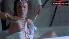 Pascale Bussieres Bathing in Hospital – Ma Vie En Cinemascope