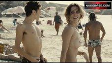 Deborah Secco Naked on the Beach – Boa Sorte