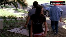 10. Michelle Lombardo Ass in Pink Panties– Entourage