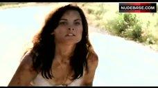 8. Jaimie Alexander Hot Lingerie Scene – Rest Stop