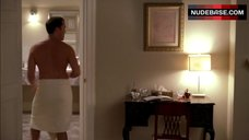 10. Perrey Reeves in Sexy White Lingerie – Entourage