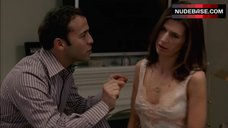 5. Perrey Reeves Hard Nipples – Entourage
