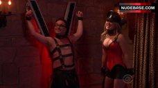 Kaley Cuoco Hot in Corset – The Big Bang Theory