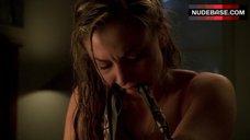 8. Drea De Matteo Hot in Red Bra – The Sopranos