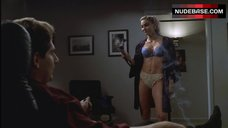 Drea De Matteo Walks in Lingerie – The Sopranos