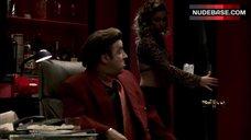 1. Drea De Matteo Cleavage – The Sopranos