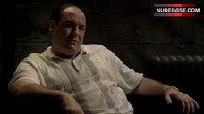 6. Drea De Matteo Cleavage – The Sopranos