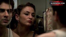 1. Drea De Matteo Lingerie Scene – The Sopranos