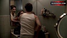 3. Drea De Matteo Lingerie Scene – The Sopranos