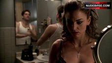 7. Drea De Matteo Lingerie Scene – The Sopranos