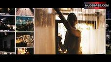 Paula Patton Full Nude in Shower – Deja Vu