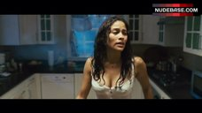 Paula Patton in Wet Top – Mirrors