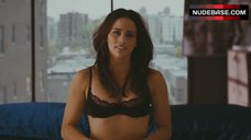 Paula Patton Sexy in Lingerie – Jumping The Broom