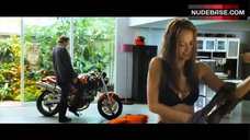 Moon Bloodgood in Sexy Black Bra – Street Fighter: Legend Of Chun-Li