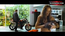 6. Moon Bloodgood in Sexy Black Bra – Street Fighter: Legend Of Chun-Li