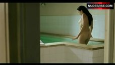 2. Elsa Zylberstin Naked in Pool – La Petite Jerusalem
