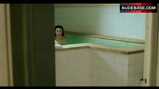 3. Elsa Zylberstin Naked in Pool – La Petite Jerusalem