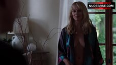 Katherine Lanasa with Open Blouse – Satisfaction