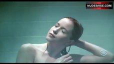 Jessy Schram Nude in Shower – Ghost Whisperer