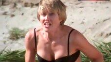 Kimberly Oja in Underwear on Beach – Son Of The Beach