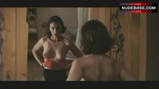 Monica Bellucci Shows Nude Breasts and Bush – L' Ultimo Capodanno