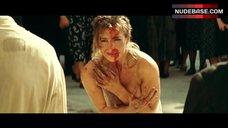 9. Monica Bellucci Shows Bare Tits – Malena