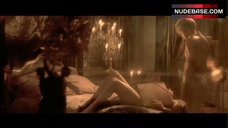 2. Monica Bellucci Naked on Bed – The Brotherhood Of The Wolf