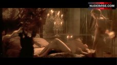 5. Monica Bellucci Naked on Bed – The Brotherhood Of The Wolf