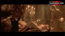 7. Monica Bellucci Naked on Bed – The Brotherhood Of The Wolf