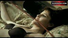 Emma Catherwood Sexy in Black Bra – Spirit Trap