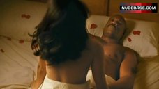 Noureen Dewulf Bed Scene – The Goods: Live Hard, Sell Hard