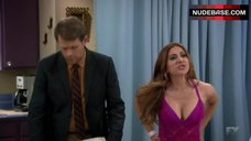 Noureen Dewulf in Sexy Nightie – Anger Management