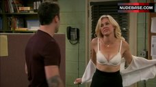Laura Bell Bundy Sexy in Bra – Anger Management