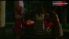 1. Dawn Clark Boobs Scene – The Hollywood Knights