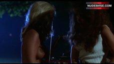 Dawn Clark Boobs Scene – The Hollywood Knights