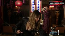 3. Keeley Hazell Cleavage – The Royals