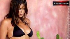 Brooke Burke Charvet Bikini Scene – Barely Brooke