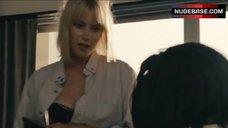 Laura Ramsey in Men's Shirt – Shrink